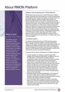 Globberry RMon Infosheet